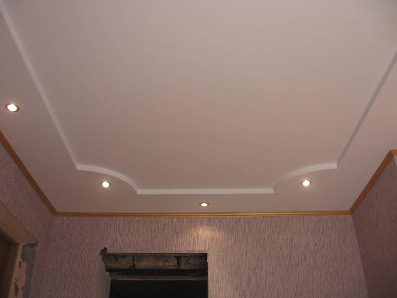 Как сделать потолок рельефным своими руками 88